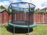 10 ft Jumpking trampoline with net