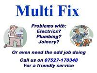 24h call out, Builder, Handy man, Electrician, Plumber, Carpenter.