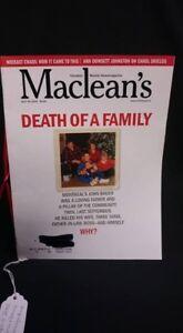April 2002 Maclean's Magazine