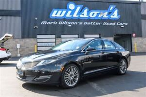 2013 Lincoln MKZ AWD! LEATHER! NAVIGATION! PANORAMIC SUNROOF! $8