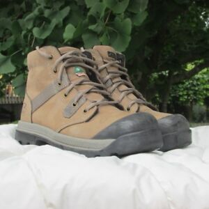 Work Boots, CSA Approved, Womens Size 7