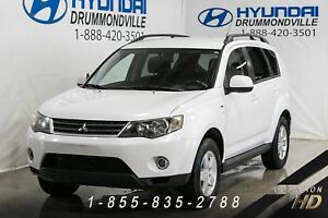 Mitsubishi Outlander 2009 + LS + AWD + 7 PASSAGERS + A/C + CRUIS