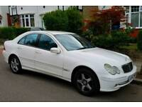 Mercedes Benz C200 Komp Avantgarde SE Automatic White