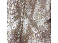 Silk Roland Joyce vintage wedding dress