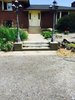 Cement and parging