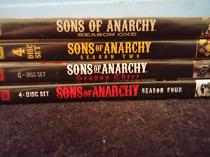 Son of anarchy dvds