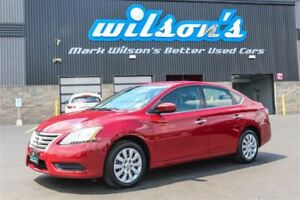 2013 Nissan Sentra S $30/WK, 4.74% ZERO DOWN! BLUETOOTH! POWER P