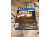 ps4 game- resident evil biohazard