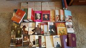 Winston Churchill Books - Collection of 45 Books