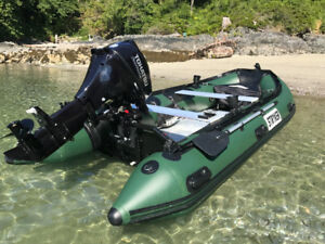 "NEW** Stryker Boats Hunter Jet 380 (12 '5"")"