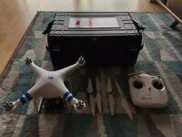 DJI Phantom 2 with H3-3D Gimbal + Hard Case