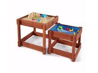 Plum sand and water tables