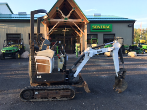 2009 BOBCAT 418 EXCAVATOR - IDEAL FOR TIGHT SPACES! LOW HOURS