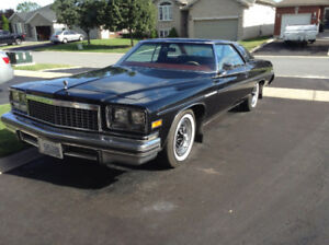 1976 BUICK LESABRE CUSTOM COUPE-SHOWROOM CONDITION-OPEN TO OFFER