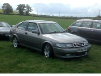 SAAB 9.3 Aero 2ltr 2 door hatchback, 2002