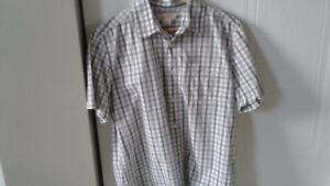 Men's Joe fresh plaid shirt size medium