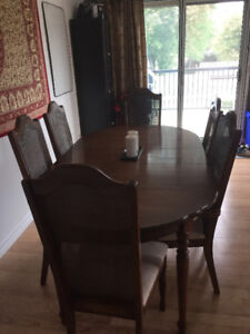 Dining Room Table with 5 chairs.