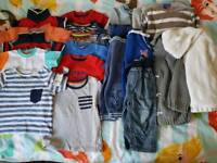 Baby boys 9 to 12 month bundle clothes