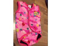 Splash about baby swim wrap pink M 6-18 month