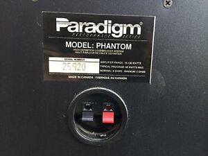 Paradigm phantom speakers