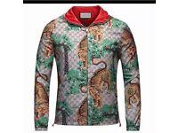 gucci tiger jacket small/medium