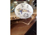 Collectors Plate Wedgwood China The Robin Birdwatcher's Notebook Series