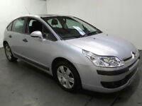 ITROEN C4 1.4 PETROL DRIVE AWAY ONLY 77K MILES CONFIRMED BY VOSA NO MOT SPARE OR REPAIRS