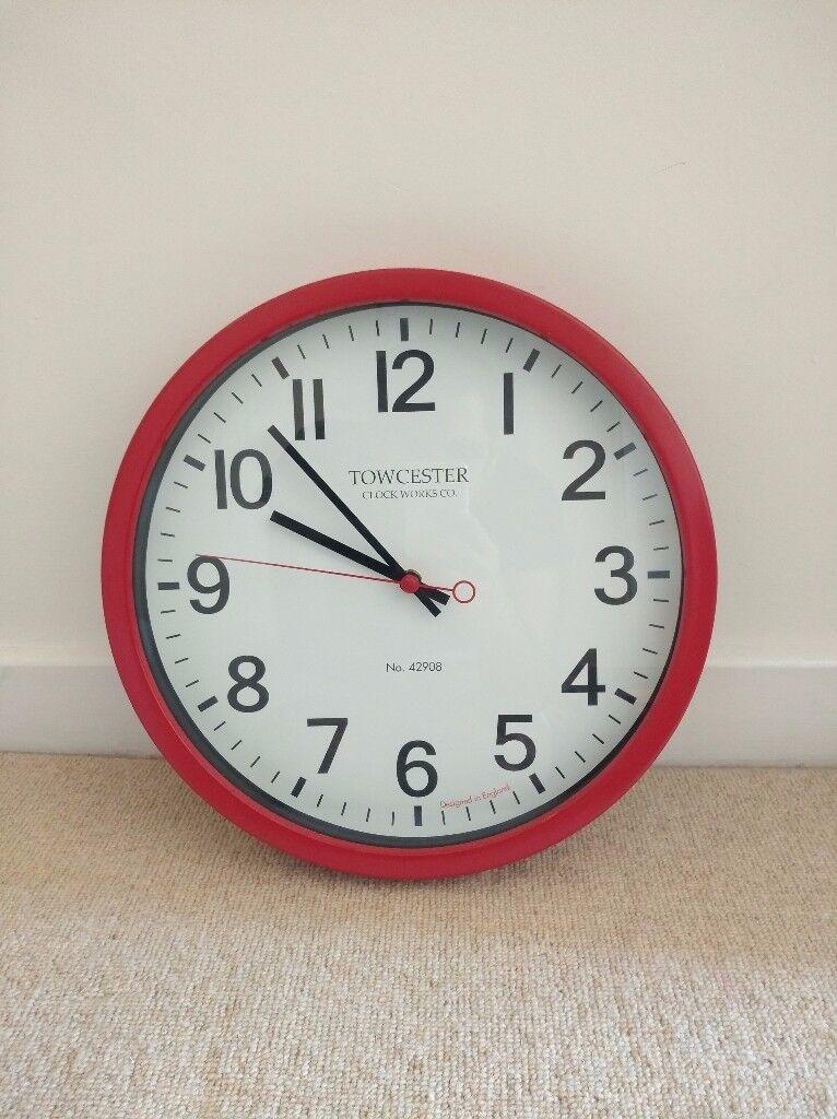 Towcester Wall Clock - 35cm