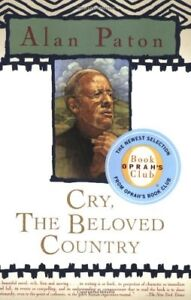Cry,the Beloved Country-Alan Paton-softcover + bonus book