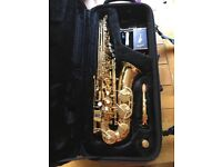 Jupiter Alto Saxophone, JAS-567 and case