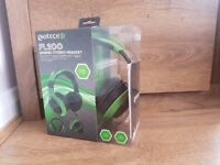 Gioteck FL-200 Headset in Blue and Green