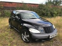 Chrysler Pt Cruiser Limited Edition Black Petrol 1996cc 140 BHP Long Mot& full service history