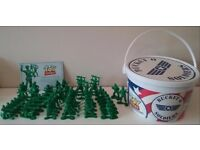 DISNEY PIXAR TOY STORY BUCKET OF SOLDERS ARMY MEN IN TUB