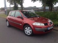 2007 RENAULT MEGAN 1.6 VVT DYNAMIQUE AUTOMATIC PETROL**1 LADY OWNER** ONLY 30K ON THE CLOCK **