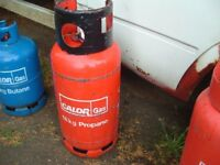 Calor Gas 'Empty' 18kg Fork lift truck Propane gas bottle, can be delivered