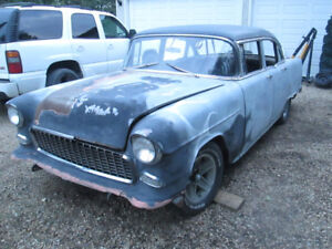 1955 CHEVY BEL AIR PROJECT