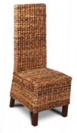 Croco rattan dining chair
