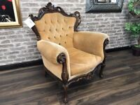 French Louis Style Occasional Chair
