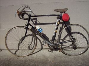 Classic Racing bike including bike rack