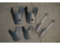 New - 3 Pairs of Shoe/Boot Shape Retainers