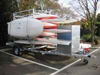 Boat Trailer. best prices and 5 makes ( Snipe, Bramber, vanclaes, Rapide, Mersea