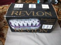 revlon heated rollers