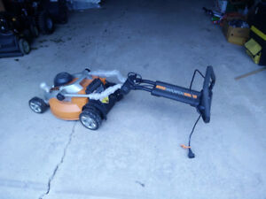 Broken Electric Lawnmower - Good for parts