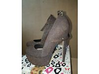 Kurt gieger womens heels shoes size 6 worn once like new RRP 70