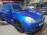 RENAULT CLIO RENAULTSPORT 182 16V (blue) 2005