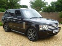 2004 54, Land Rover Range Rover VOGUE TDV6 ++ 10 SERV STAMPS + 2 KEYS
