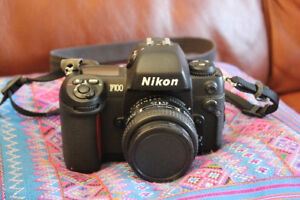Nikon F100 and 50mm f/1.4D in excellent condition
