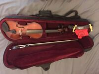 4/4 Violin student set with accessories (Stringers)