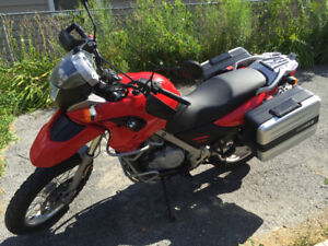 BMW F650GS - 2007 - including complete luggage system