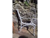 cast iron benches